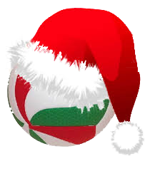 Pallone volley Natale